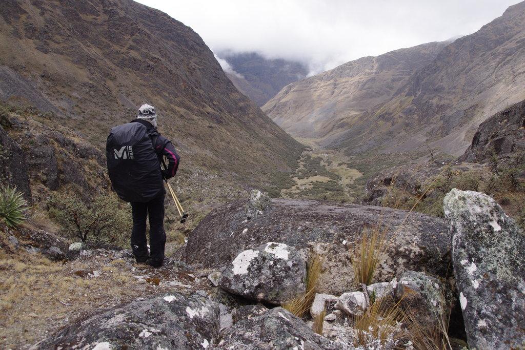 Dans la descente vers Ancoma