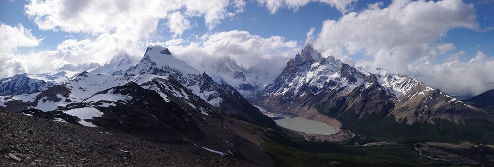 Massif du Fitz Roy, Patagonie