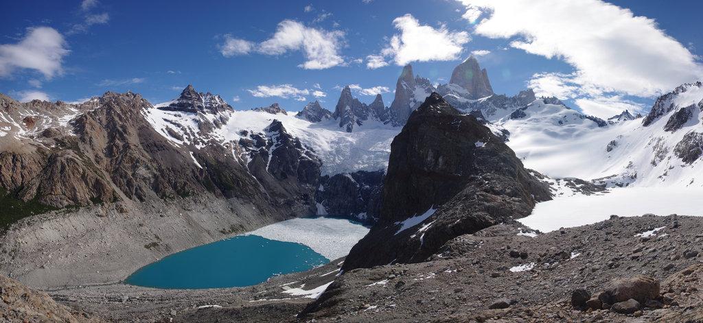 Lacs du Fitz Roy, Patagonie