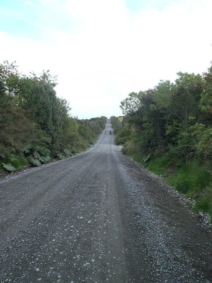 Les route vallonnées