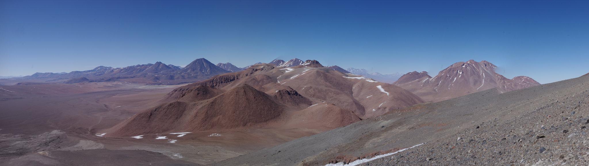 Vue du Lascar, Atacama