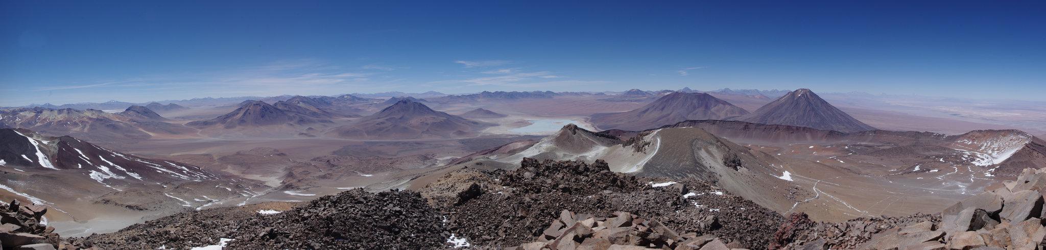 Vue du Sairecabur, Atacama