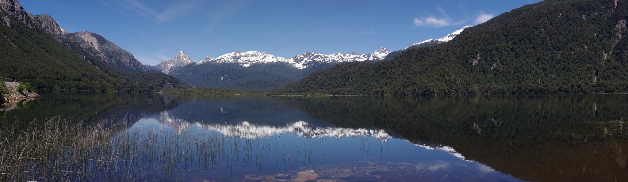 Vue d'un lac, Patagonie, Carretera Australe