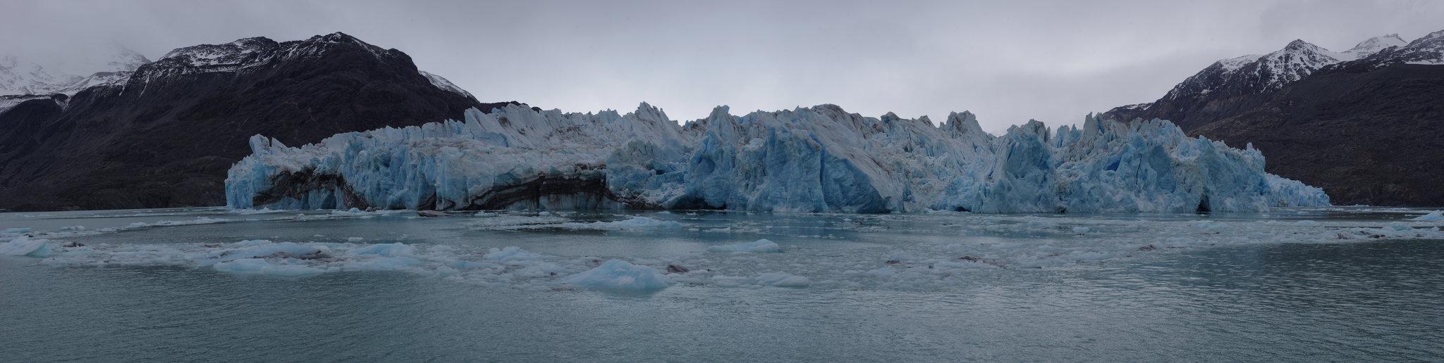 Vue sur le glacier O'Higgins